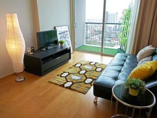 1BR BTS, Airport Rail Link, Siam Bkk Heart WiFi, Bangcoc