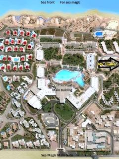 Resort layout my chalet is indicated by an arrow
