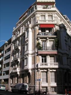 Belle-epoque apartment building