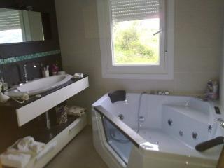 apartamento playa areabrava 4-6 pers con piscina, Provincia de Pontevedra