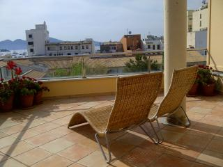 Penthouse apartment Majorca stunning views of bay, Port de Pollença