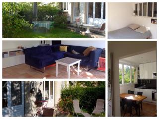 Appartment with garden 10mn from paris centre