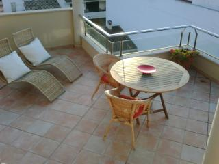 Central Porto of  Pollenca Majorca, penthouse apartment with stunning bay views.