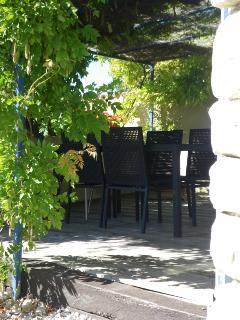 terrasse aménagée (barbecue, transats)