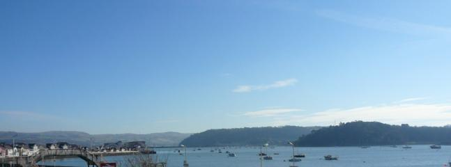 Spectacular view - from Conwy View Apartment balcony