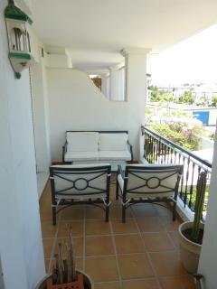 Terrace outside master bedroom