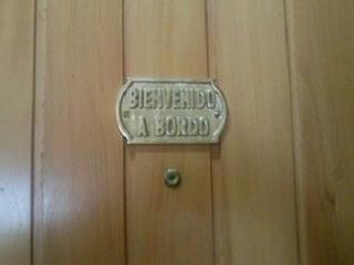 Puerta de entrada: BIENVENIDO A BORDO.