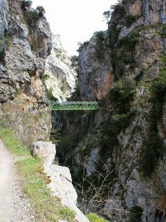 Puente Bolín. Ruta del Cares
