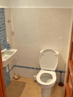 Downstairs WC for use when around the pool