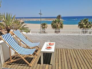 1ª linea playa. diseño.Gran terraza frente al mar, Carboneras