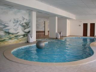 Pool with jacuzzi, sauna and steam room