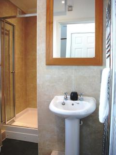 Step into the Ground Floor Double Shower Room - straight off the beach