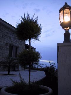 Evening Garden View
