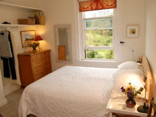 Main bedroom overlooking Craigmillar Golf Course