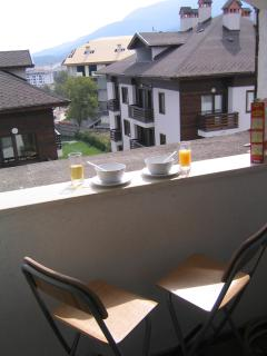 Enjoy the morning sun in the balcony