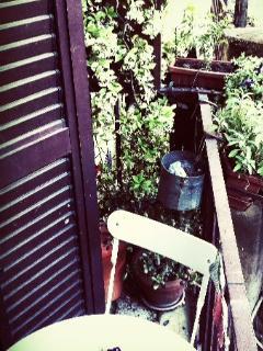 Balconcino verde