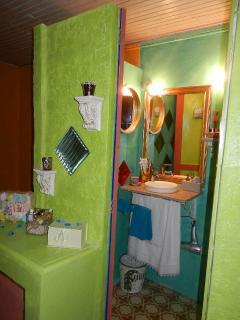 cabinet de toilette, wc, douche