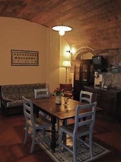 Open lounge kitchen