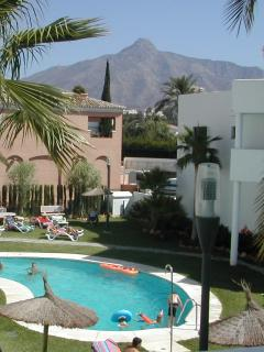 The second pool which is heated in cooler months so you can swim all year round at La Maestranza!