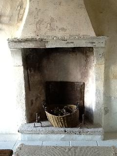 Fireplace in the Entrance Hall