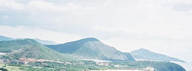 View of Mountain and Sea surrounding Margarita