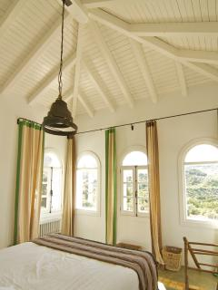 Amazing views to the countryside from the master bedroom upstairs...