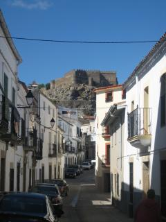 Montanchez (10 min drive) is an unspoilt hilltop town with castle, bars, cafes and a weekly market