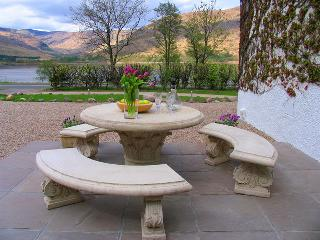 Patio and Loch View