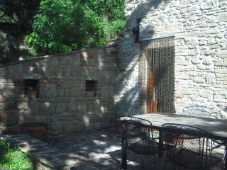 Terrace and front door