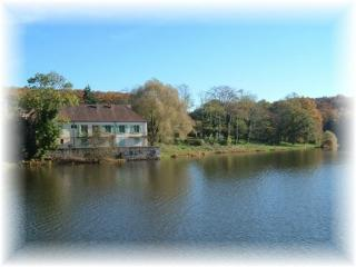 beautiful lakeside house .Allier . Auvergne.