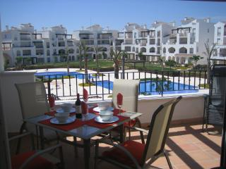 Apartment Terrace Overlooking the Pool & Gardens