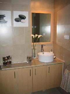 Bathroom with Full Bath and Over-Bath Shower