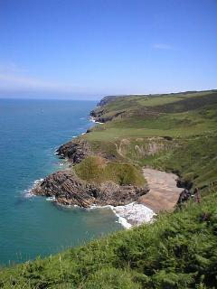 Just 12 miles to the beautiful coastal path walks and  beaches