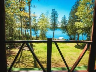 #116 Cozy cabin with lots of privacy on Lake Hebron