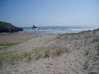 Self catering beach chalet, Pembrokeshire.