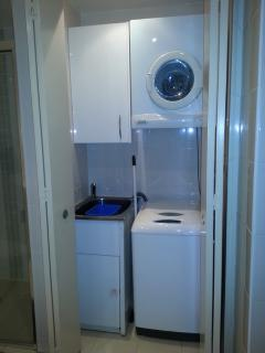Internal Laundry with Washer and Dryer