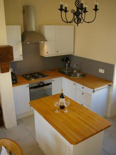 Limousin Farmhouse - Kitchen with Gas Hob, Elec oven, dishwsher, washing machine