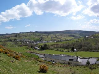 Set in an elevated position with panoramic views of Snowdonia