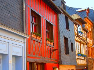 Historical Honfleur - Red House - Free WIFI