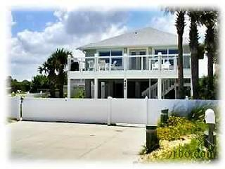 Oceanfront Private 5 Bdr House - No drive Beach, New Smyrna Beach