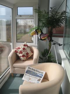 Relax in the sunrooms!