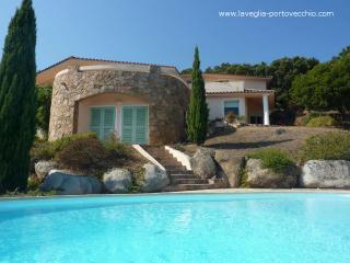 Villa avec piscine et magnifique vue panoramique, Porto-Vecchio