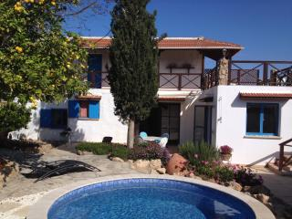 Lemonia Courtyard, village house with pool and private courtyard.