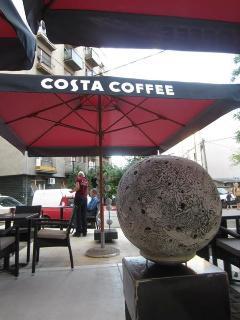 Costa Coffee café next door