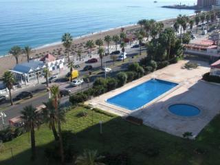 1ª linea de playa Benalmadena, Maite, piscina
