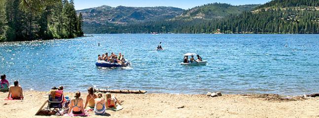 Public Beach at Donner Lake
