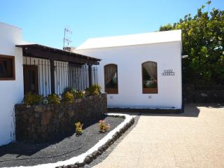 Side View of Casa Terria Entrance.