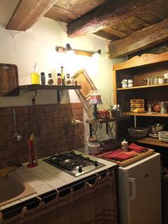cucina su soppalco