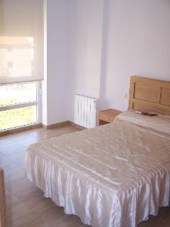 Dormitorio con vistas.