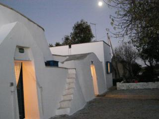Casa Serendipita` by moonlight